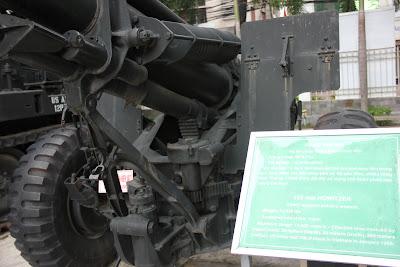 Obus Howitzer guerra de Vietnam