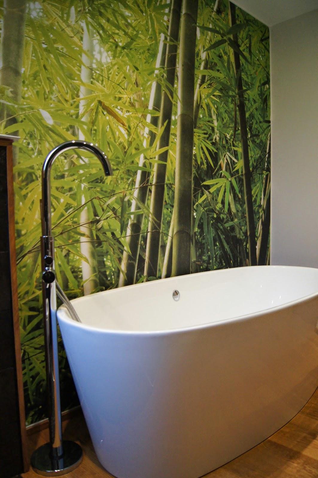 D coration salle de bain exotique for Mobilier salle de bain bois exotique