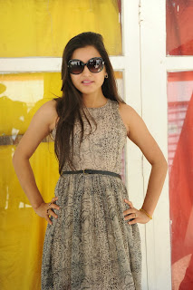 Actress Shipra Gaur Pictures in Short Dress at Root Film Creations Opening 0027