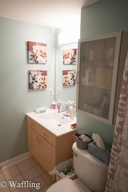 Waffling Bathroom Paint Colour