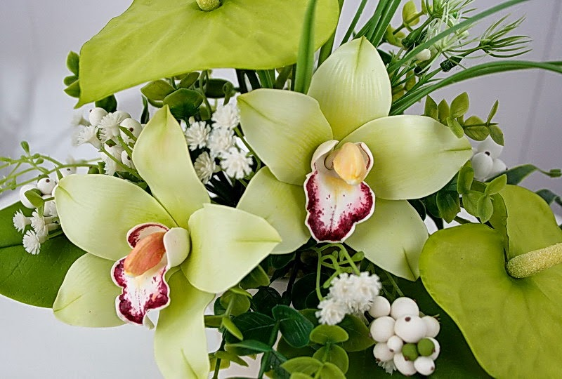 Фото экзотических цветов композиция