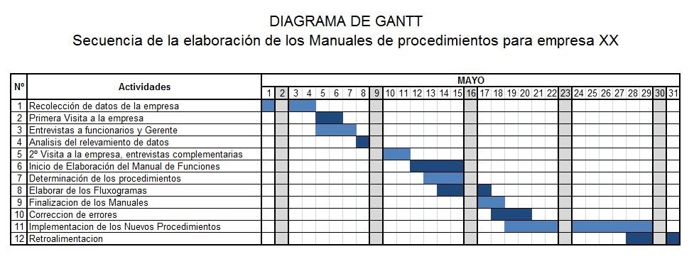 formato cronograma de actividades excel