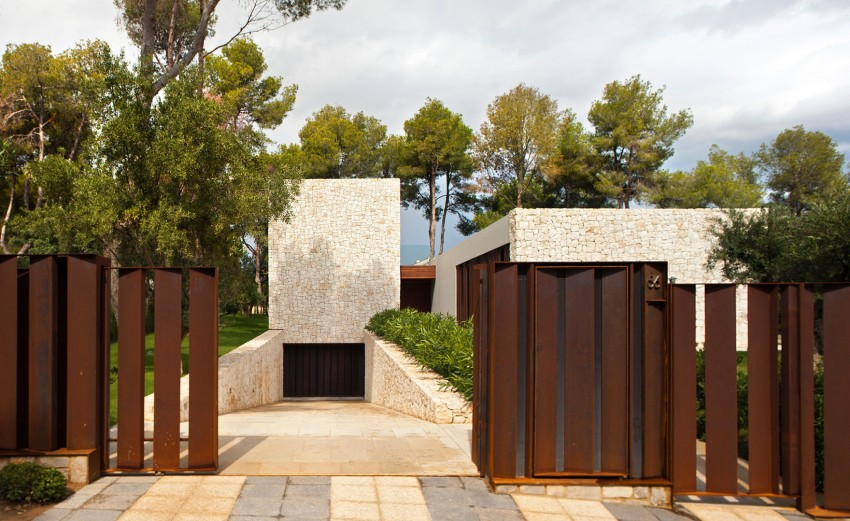 By zonarquitec casa el bosque valencia espa a arquitectura for Casa minimalista bosque