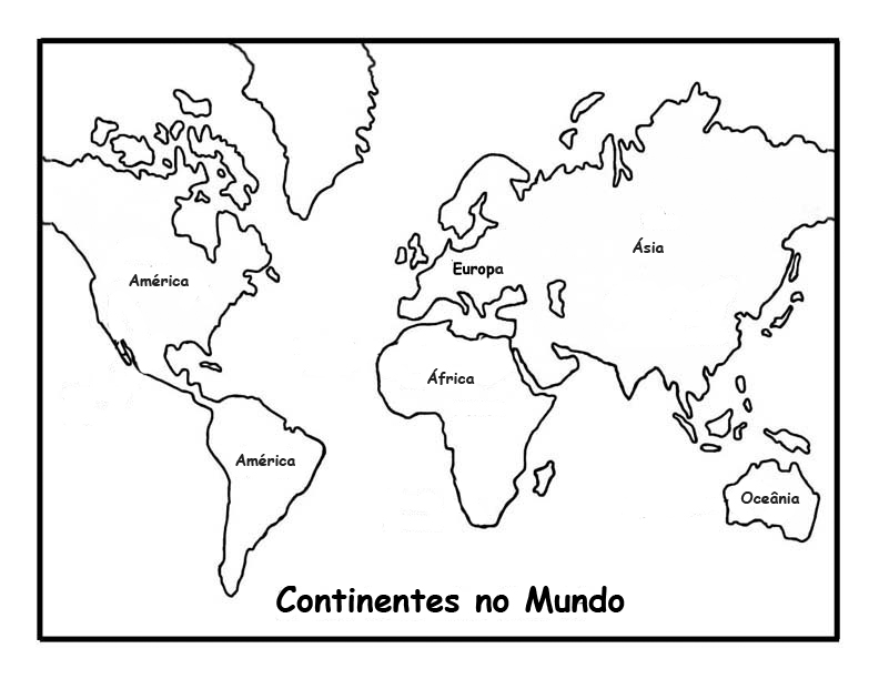 Continentes Do Mundo