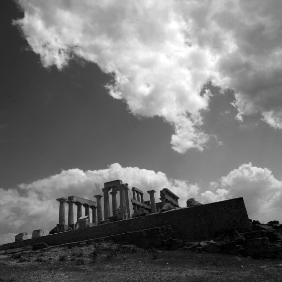 photo temple d'aphaïa, ile d'Egine, Grèce, Temple of Afea, Aegina Island Greece, © dominique houcmant