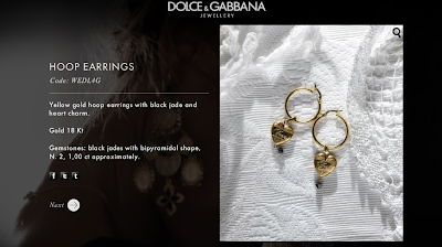 D&G Fashion Jewelry| Hoop Earrings
