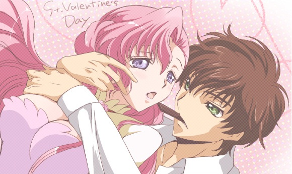 anime couple,anime love, St. Valentine's Day