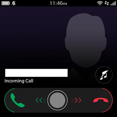 BlackBerry 10.2.1 trae una pantalla de llamada totalmente renovada. La pantalla de llamada original enBlackBerry 10 había que deslizar hasta abajo para aceptar una llamada y deslizar hacia arriba para rechazaruna llamada. Al parecer, los usuarios estaban experimentando una dificultad en la comprensión de cómo contestar las llamadas lo que generó un retroceso significativo. Por lo tanto, BlackBerry abordó el tema con esta nuevapantalla de llamada. En lugar de estar en el centro de la pantalla, la barra de deslizar para contestar o rechazar una llamada se coloca en la parte inferior. Compruébalo tu mismo en acción en el vídeo