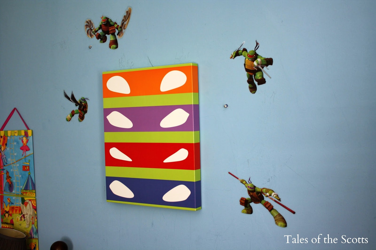 Ninja turtles bedroom design home interior design Turtle decorations for home