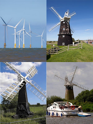 Windmills in Greater Yarmouth