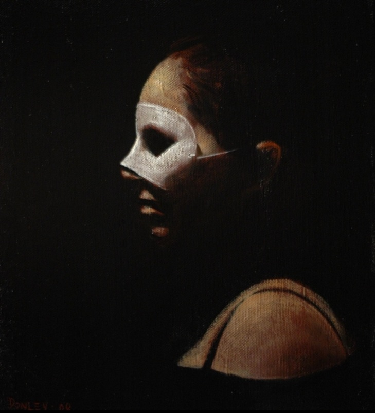 ray donley white mask