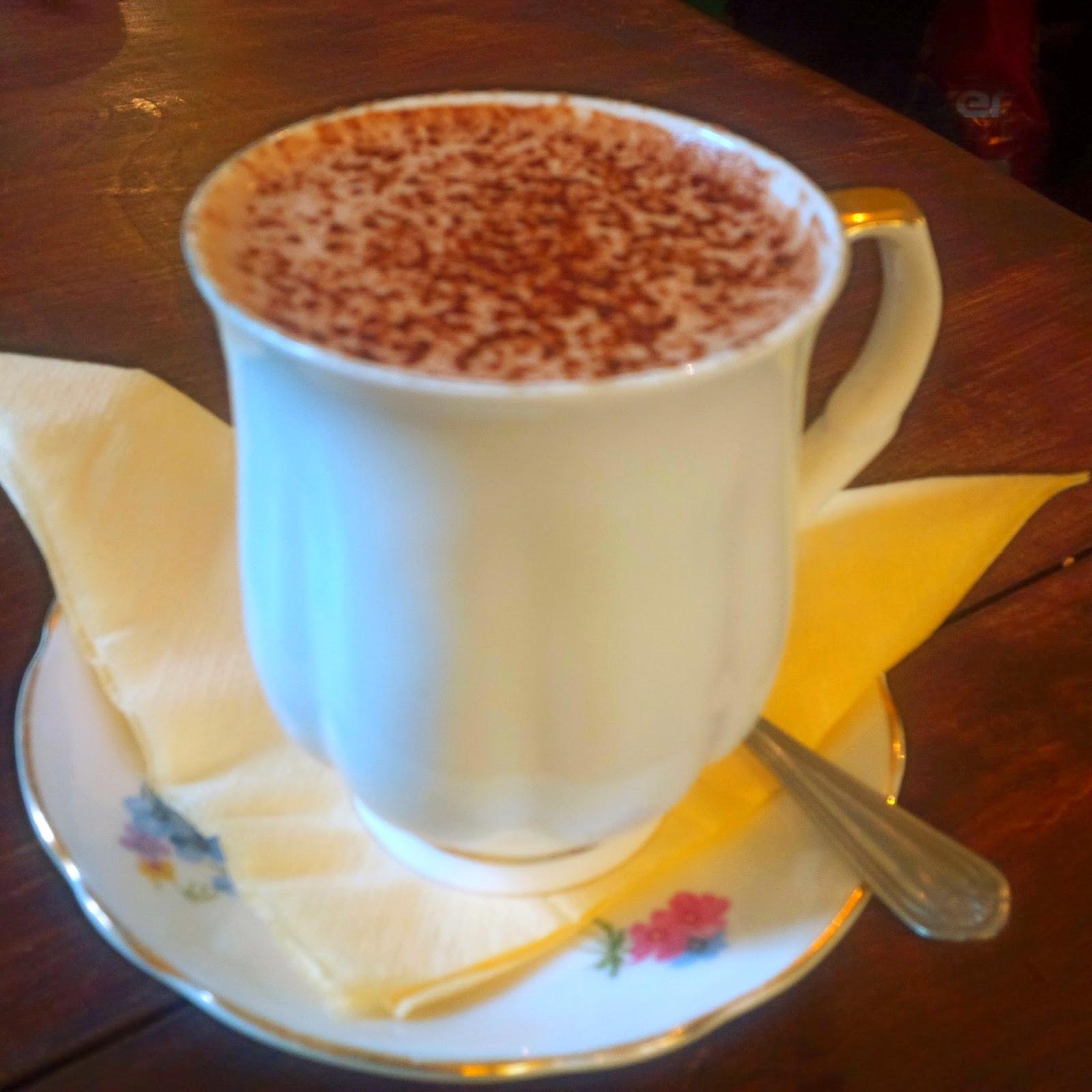 Little Miss Disney: So I REALLY like hot chocolate...