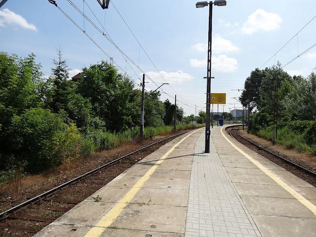 Peron nr 8 stacji Warszawa Zachodnia