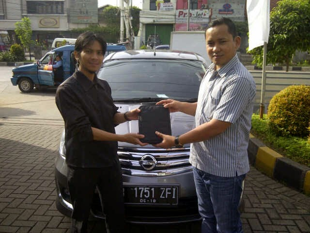 Terimakasih atas kepercayaan Pak Fithra Hidayat yg telah membeli Grand Livina HWS melalui media www.touchnissan.com.  Semoga Berkah ya Pak...