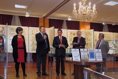 Inauguración de la exposición de coleccionismo del Centro Asturiano