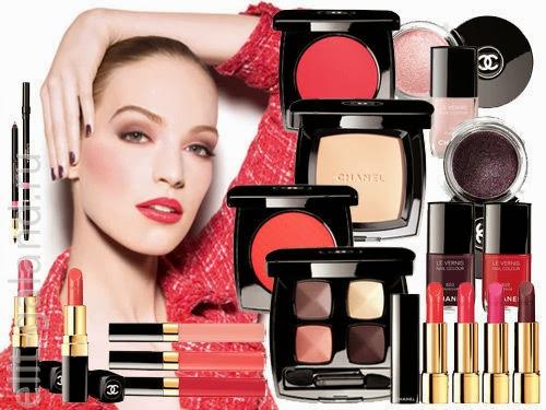 Chanel notes du printemps spring 2017 makeup collection