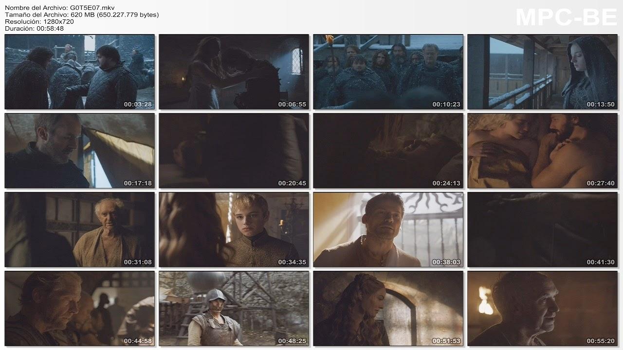 Games Of Thrones S5 (07/10) 720p Latino