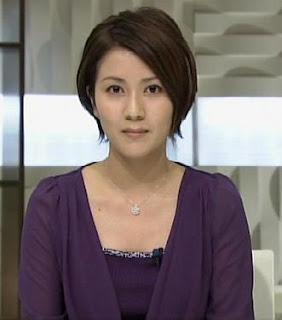 松尾英里子アナがガッツリ見して...