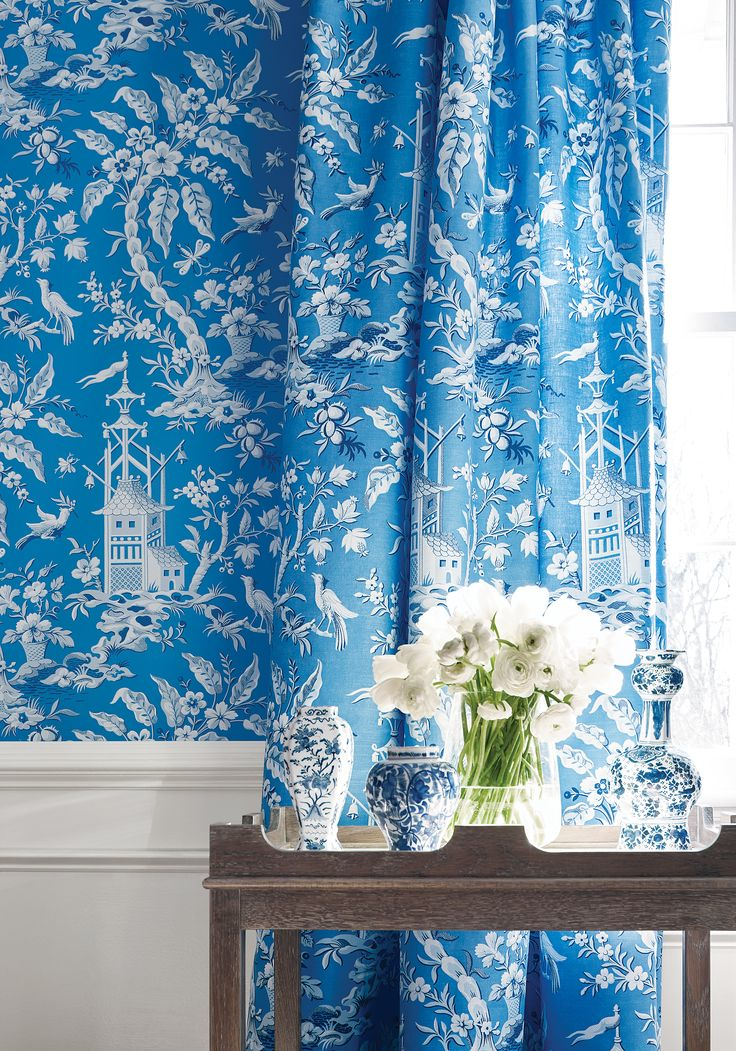 chinoiserie chic blue and - photo #34
