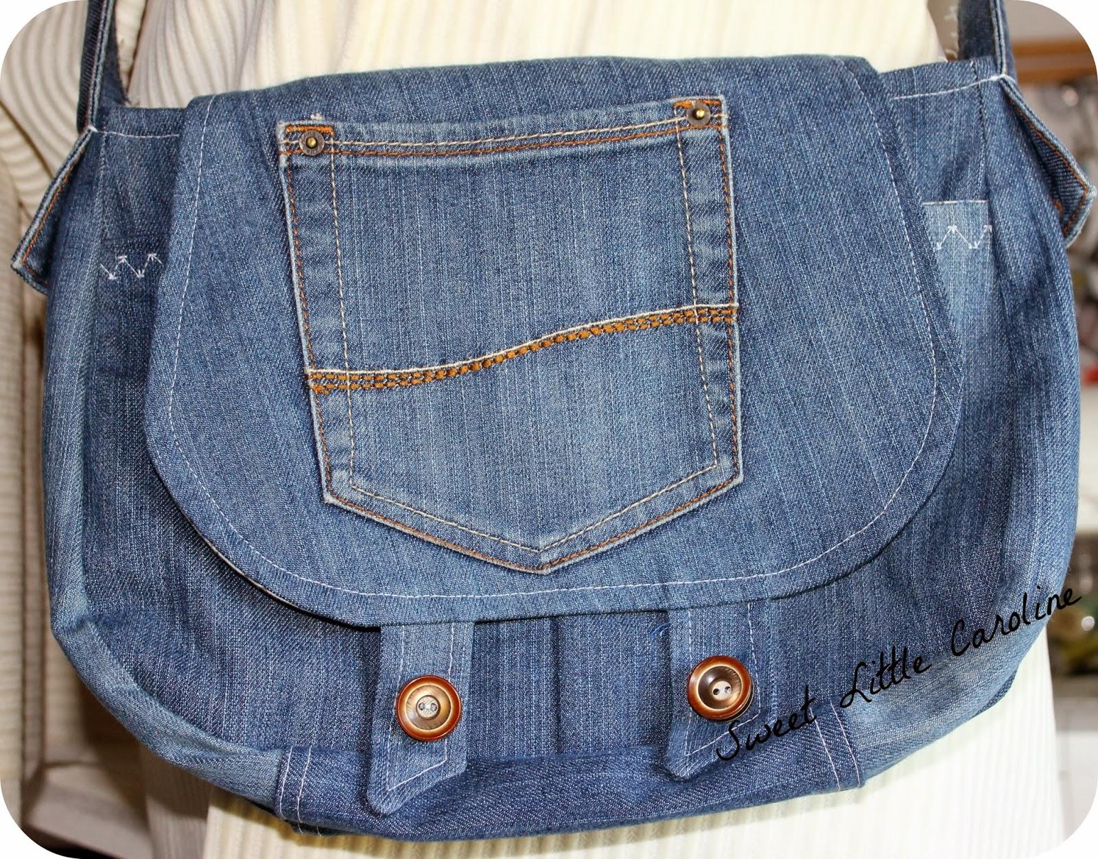 sweet little caroline sac en jean. Black Bedroom Furniture Sets. Home Design Ideas