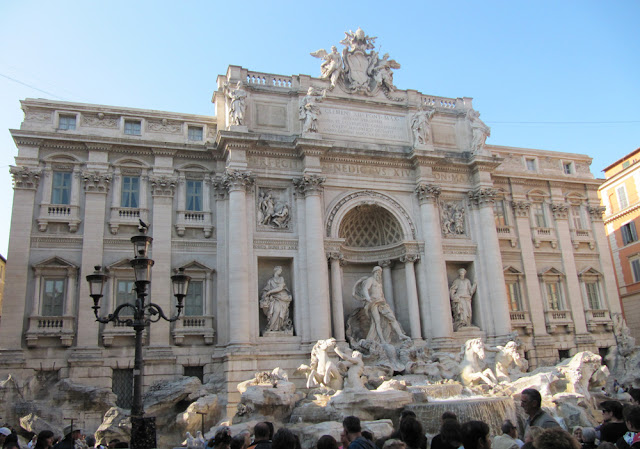 Fontana de Trevi en Roma