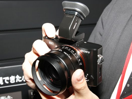 sony dsc-rx1 electronic viewfinder evf
