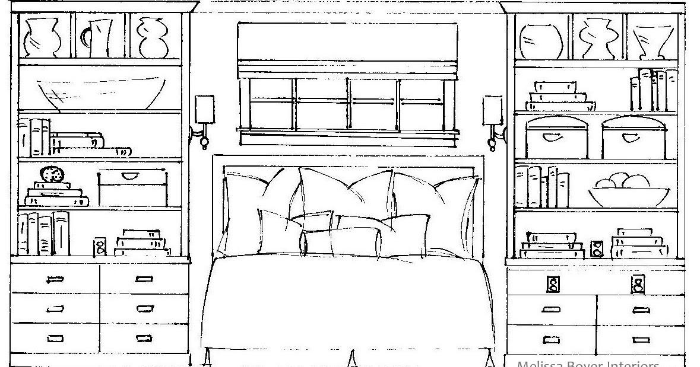 project peek  master bedroom drawings