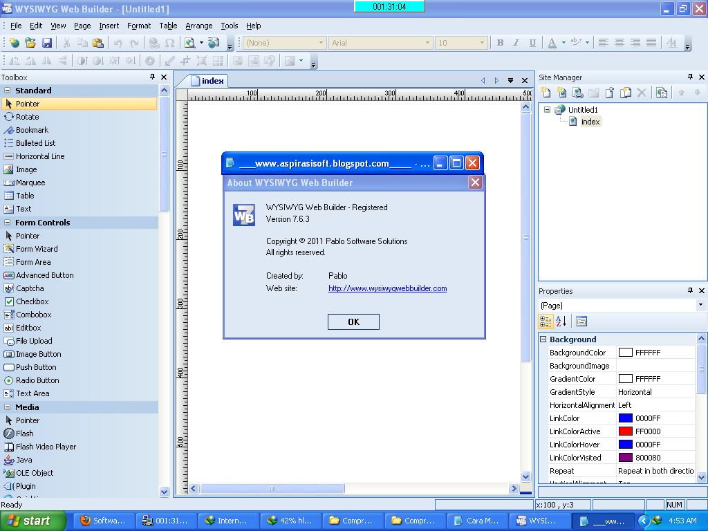 Keygen Wysiwyg web Builder