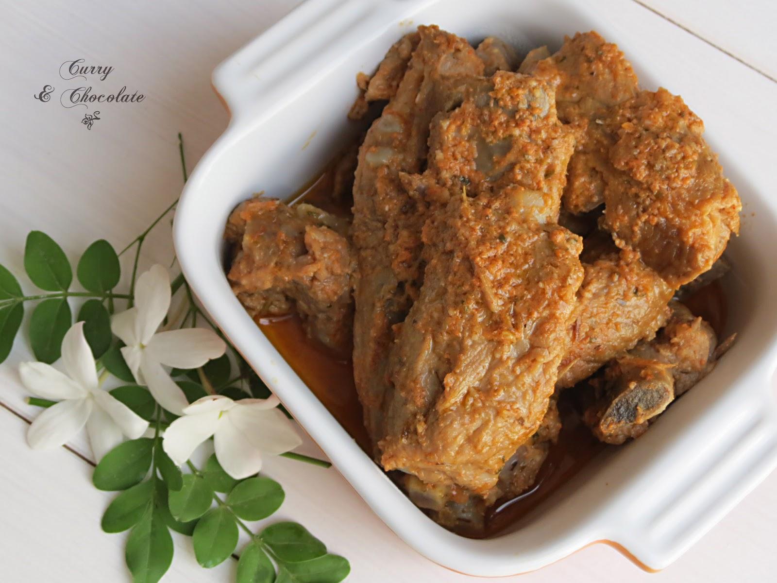 Costillas de cerdo adobadas al estilo de mi madre – Marinated pork ribs