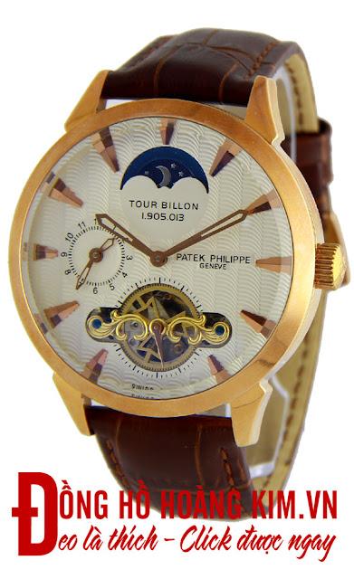 Đồng hồ đeo tay nam dây da cao cấp giá rẻ 2015-2016