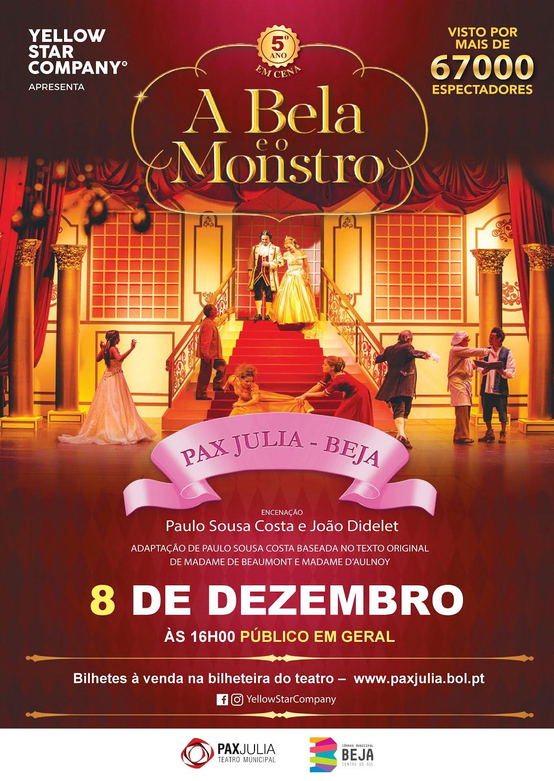 MUSICAL - A BELA E O MONSTRO