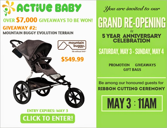 Active Baby Prize Page