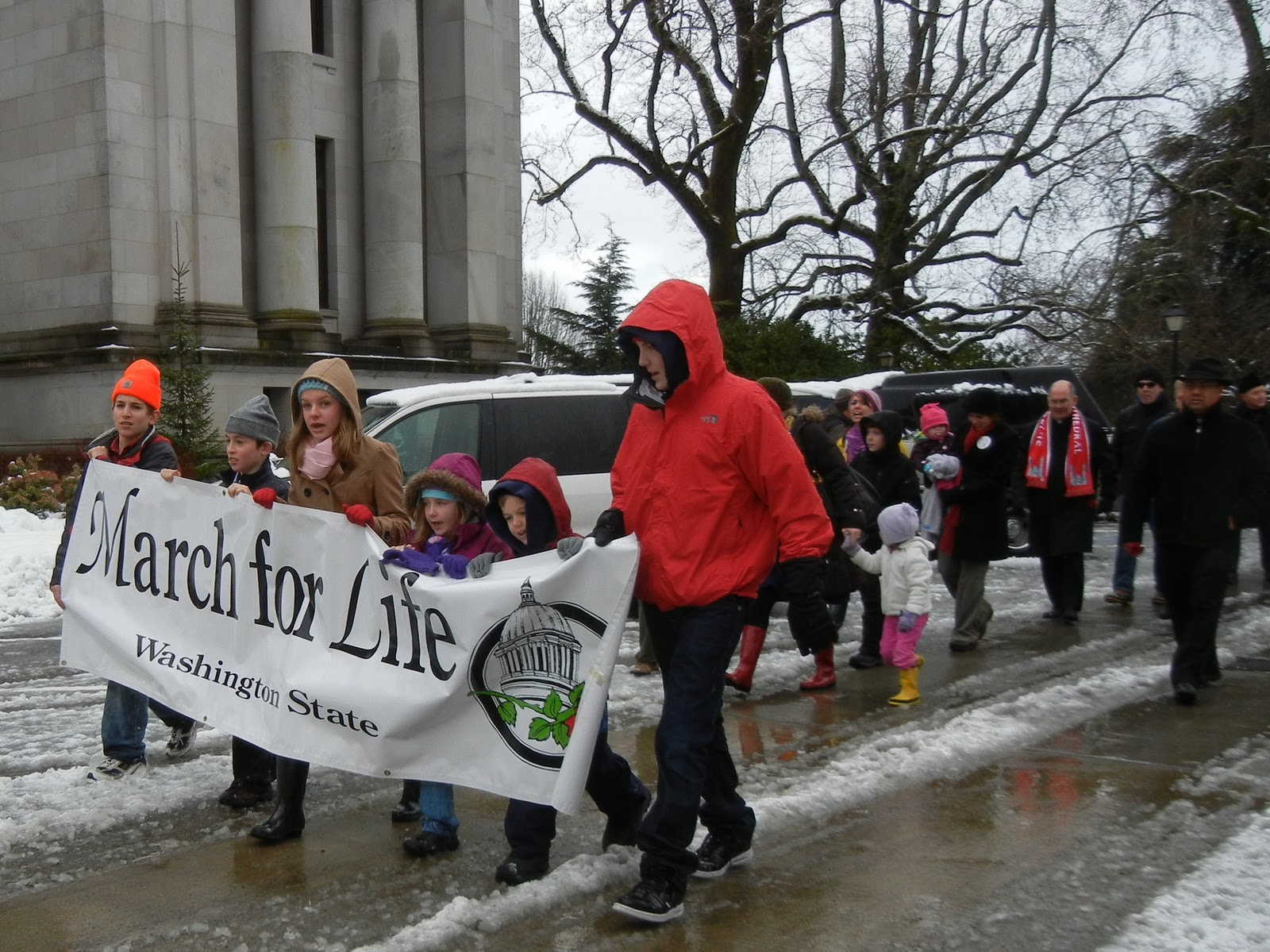 March for Life Olympia