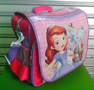 SOFIA THE FIRST ONCE UPON A PRINCESS SATEN TAS RANSEL (BACKPACK) 3IN1