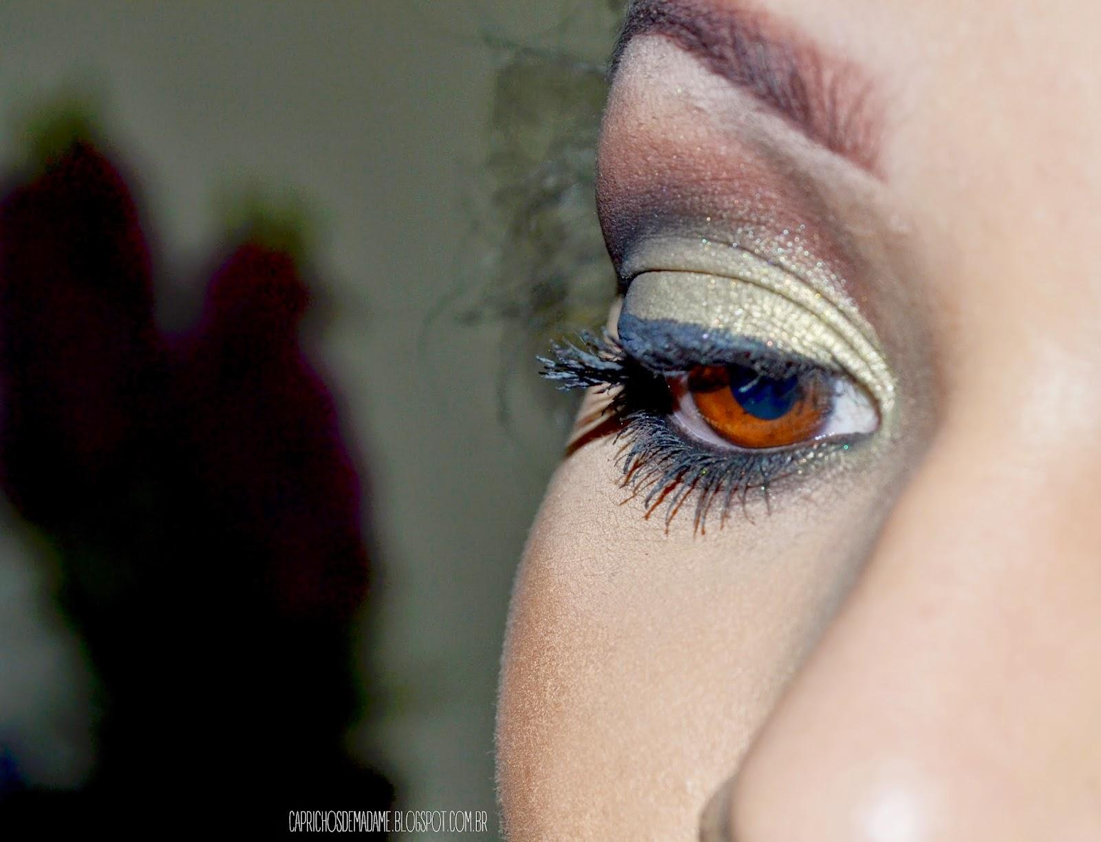 Maquiagem casual para festas