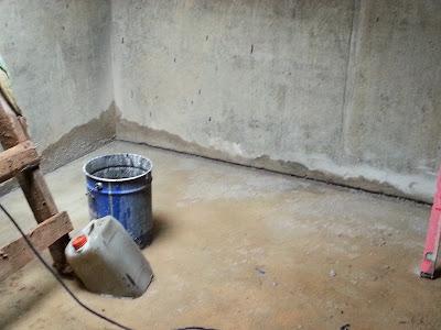 Пропускание воды стена-пол