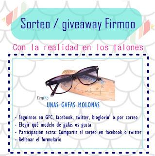sorteo / giveaway gafas firmoo gratis