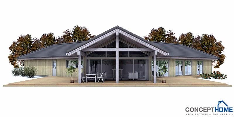 Proyectos de casas modernas proyecto de casa moderna ch134 for Proyectos de casas modernas