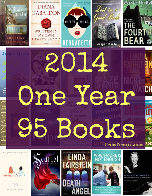 My 95 books of 2014 - with a lot of new favorite reads.