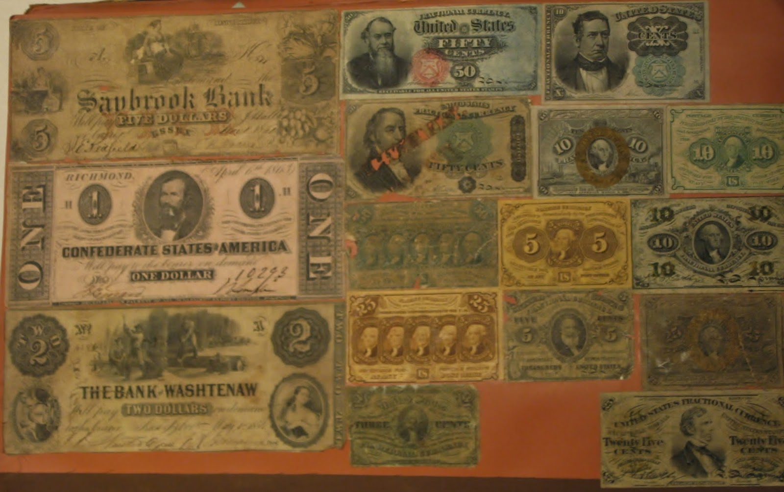 how to clean paper money