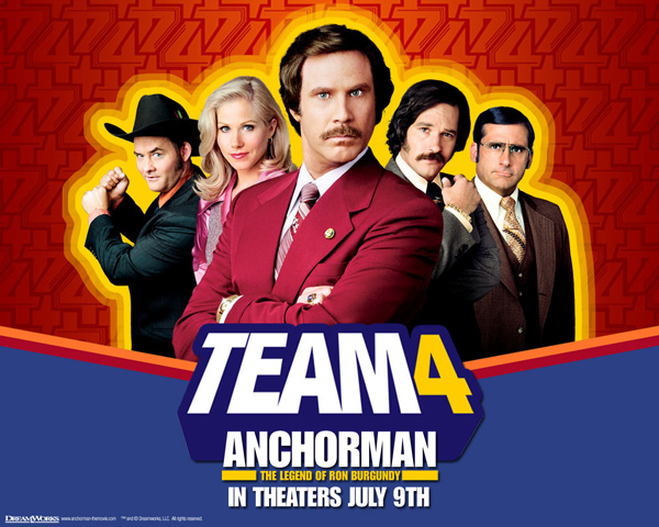 Anchorman 2 Will Come With Will Ferrell, Steve Carell And Paul Rudd
