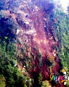 Lokasi Jatuhnya Pesawat Sukhoi di Jawa Barat