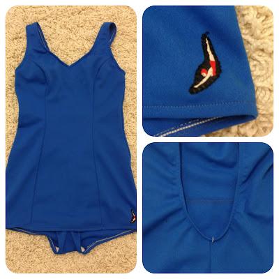 Marshmallow Electra vintage swimsuit