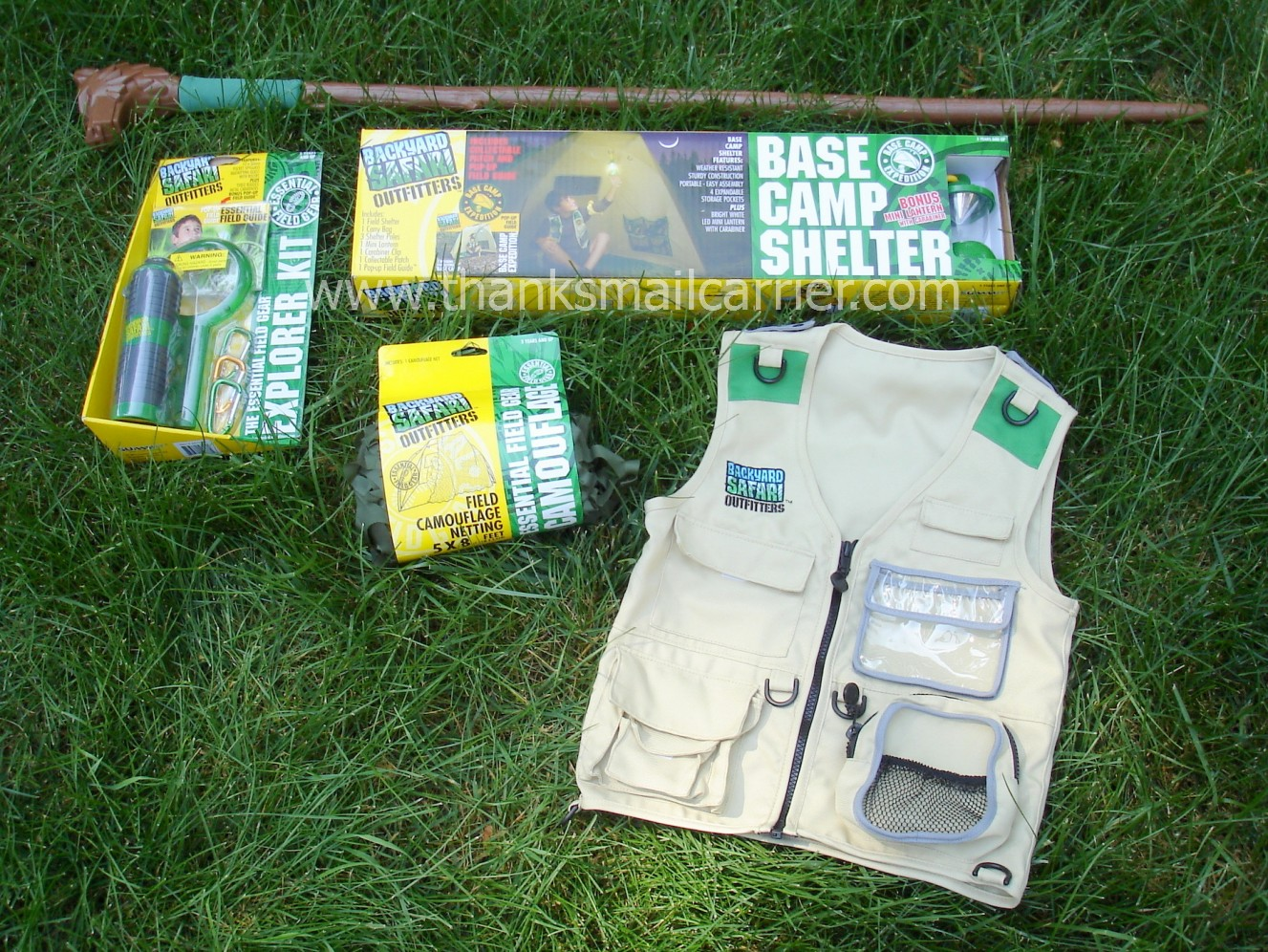 Thanks, Mail Carrier | Outdoor Adventures With Backyard Safari Outfitters  Essential Field Gear {Review}