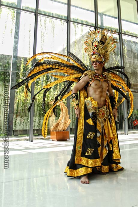 The best national costume mister international 2010