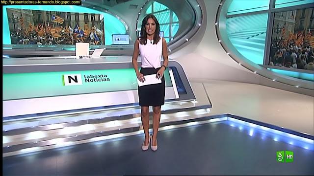 Cristina Saavedra piernas