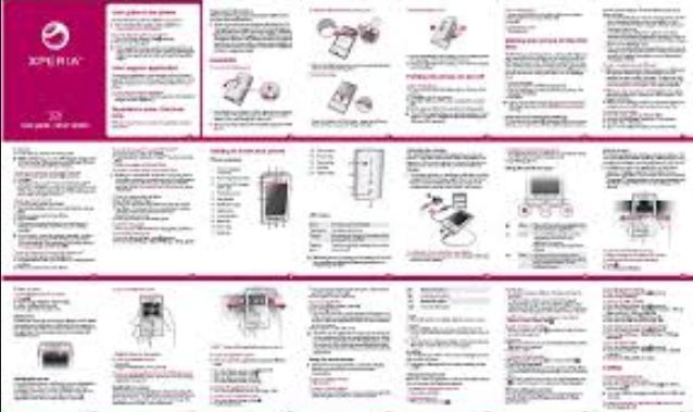 Sony Xperia x8 User Manual
