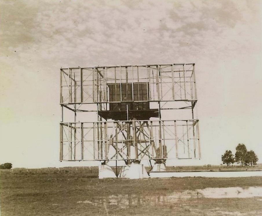 Radar 588 (40 dipolos) de la Raytheon