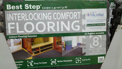 Add some flooring to your house with the Best Step Interlocking Comfort Flooring Tiles