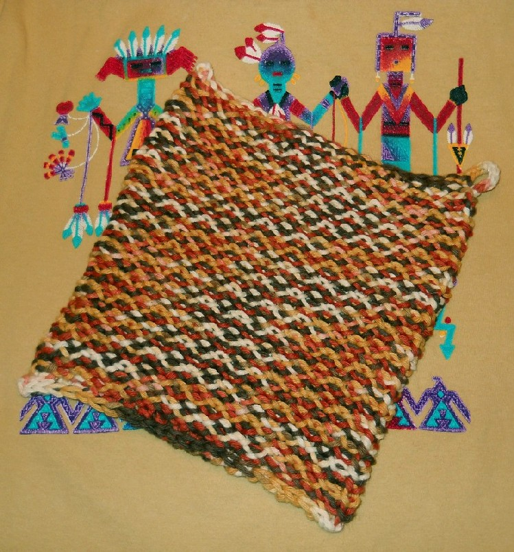 Loom Lore Indian Corn Hot Pad